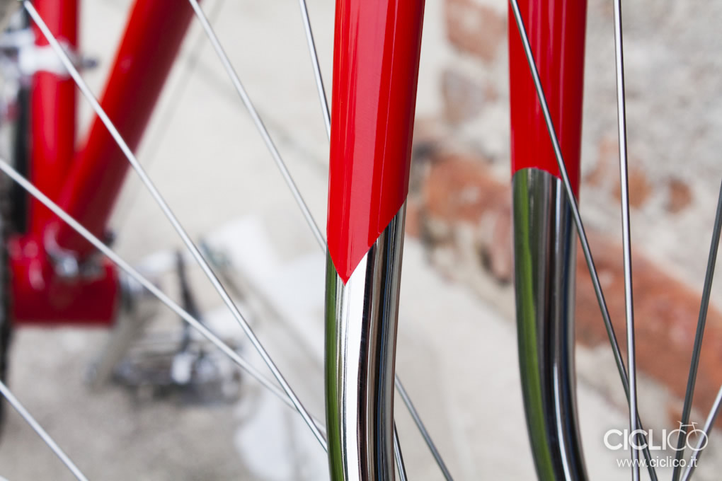 Forcella, Cicli Rolard, restauro bici d'epoca