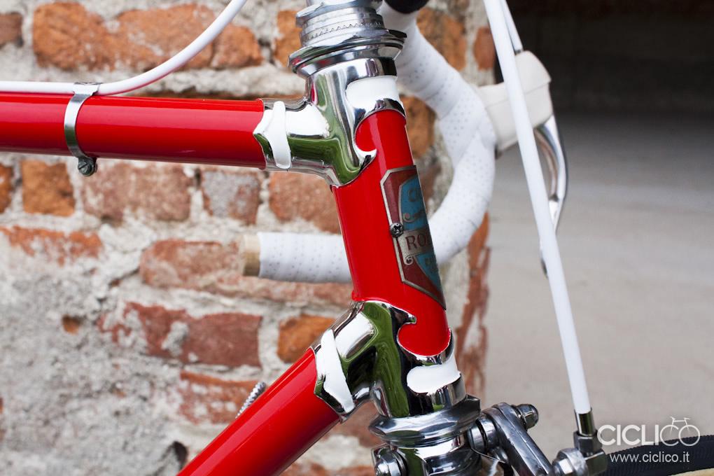 Cicli Rolard, Cima Portule, Campagnolo due leve, restauro bici d'epoca