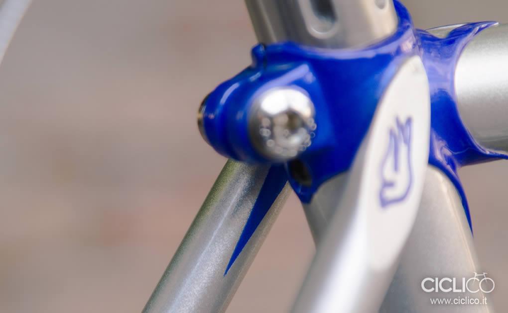 Rebellato, steel single speed, flat handlebar, Campagnolo, Gipiemme, Dia Compe tech 77