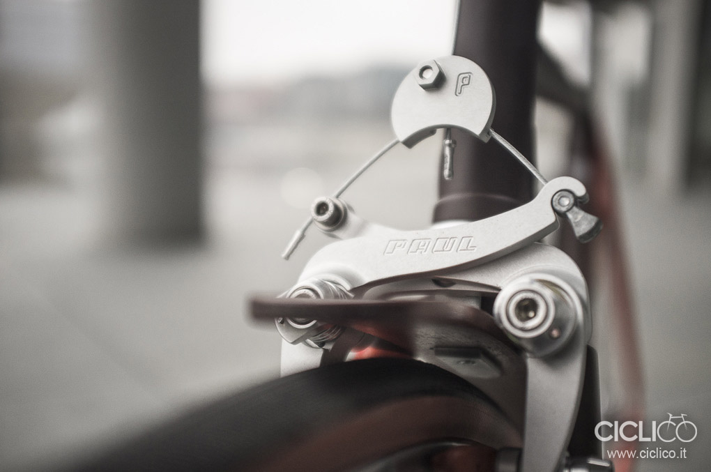 Paul Comp. cantilever racer medium, center mount, Ciclico