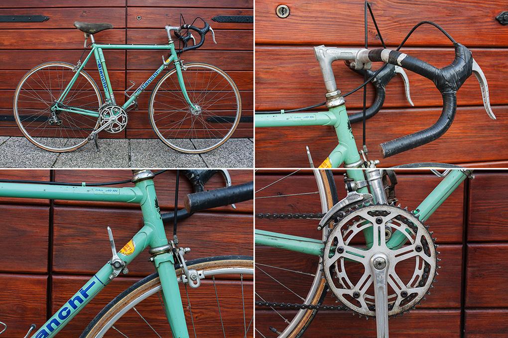bianchi, restauro, bici vintage, restauro bici vintage, ciclico,