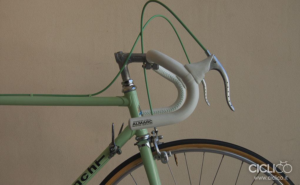 Bianchi Rekord, Bianchi, ciclico, bici corsa, vintage, almarc, restauro, huret,