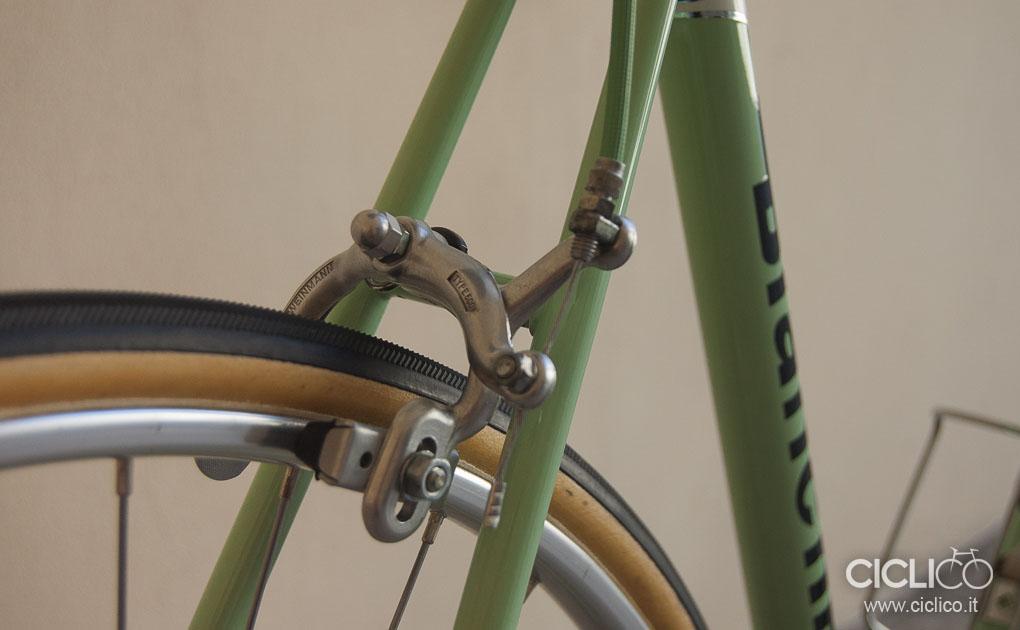Bianchi Rekord, Bianchi, ciclico, bici corsa, vintage, almarc, restauro, huret, weinmann type 500