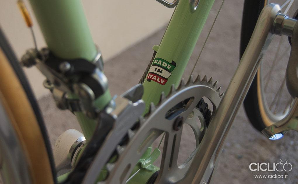 Bianchi Rekord, Bianchi, ciclico, bici corsa, vintage, almarc, restauro, huret, weinmann 500, ofmega