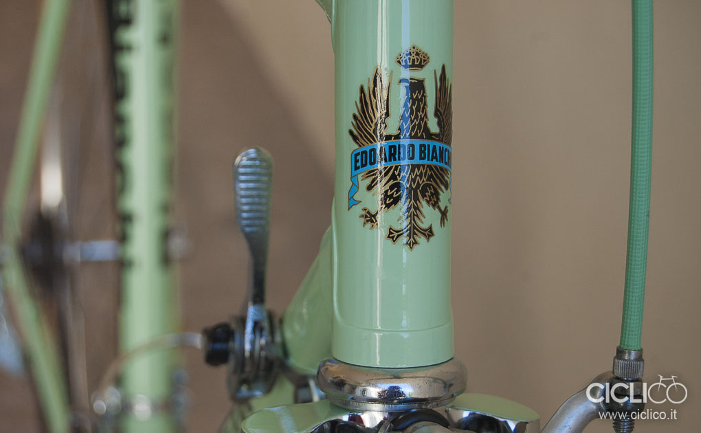 bianchi, bianchi rekord, ciclico, restauro, bici vintage, cambio huret,