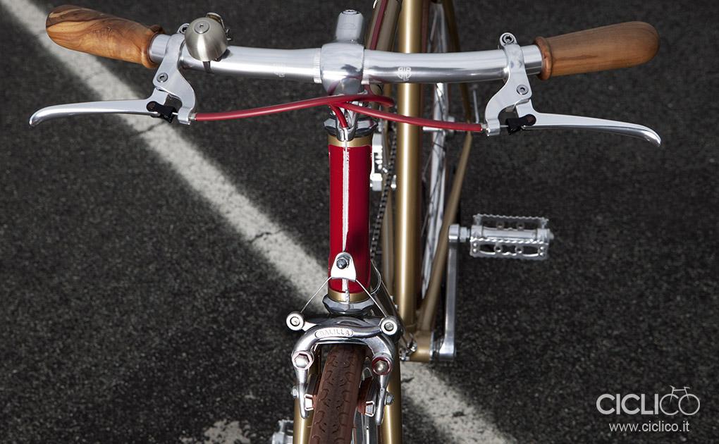 ciclico, urban bikes, singlespeed, BLB rainbow handlebar, Tektro FL750, Balilla center pull