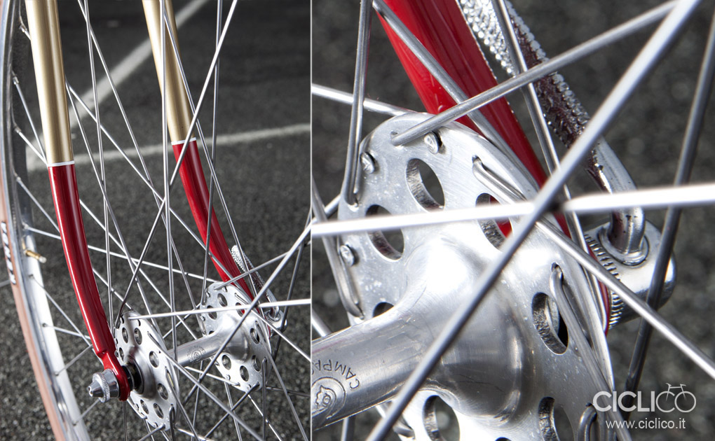 ciclico, urban bikes, singlespeed, mozzi Campagnolo flangia alta