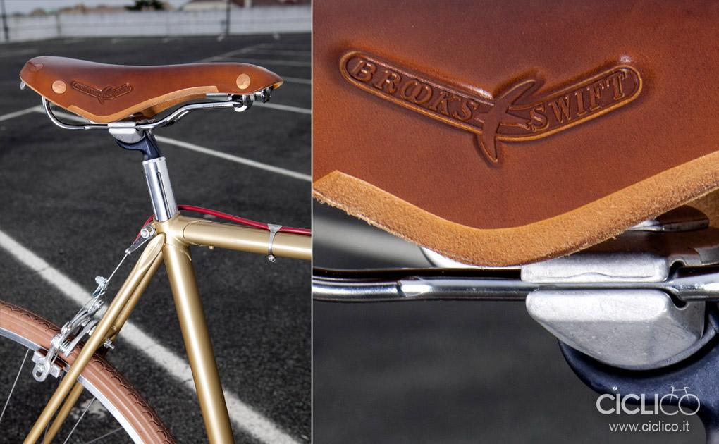 ciclico, urban bikes, singlespeed, Brooks Swift saddle