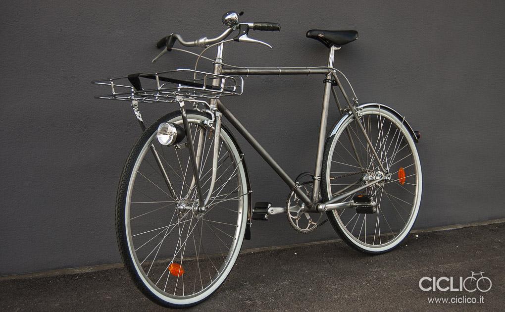 Quicksilver, citybike, urban bike, touring bike, steel bike, ciclico singlespeed