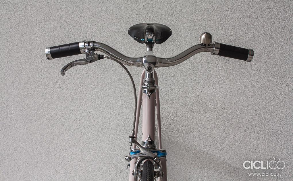 singlespeed, acciaio, reynolds, spurcycle, brake lever blb, 3ttt, brooks imperiale, brooks grips, manopole brooks