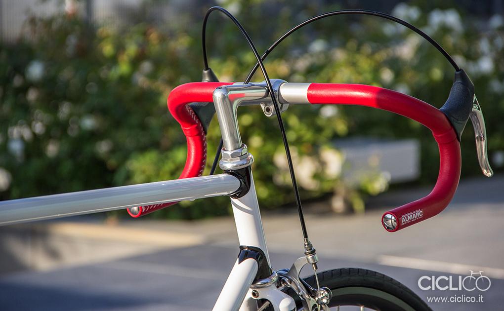 ciclico, singlespeed, urban bike, telaio acciaio, dura ace 7400, almarc, cinelli