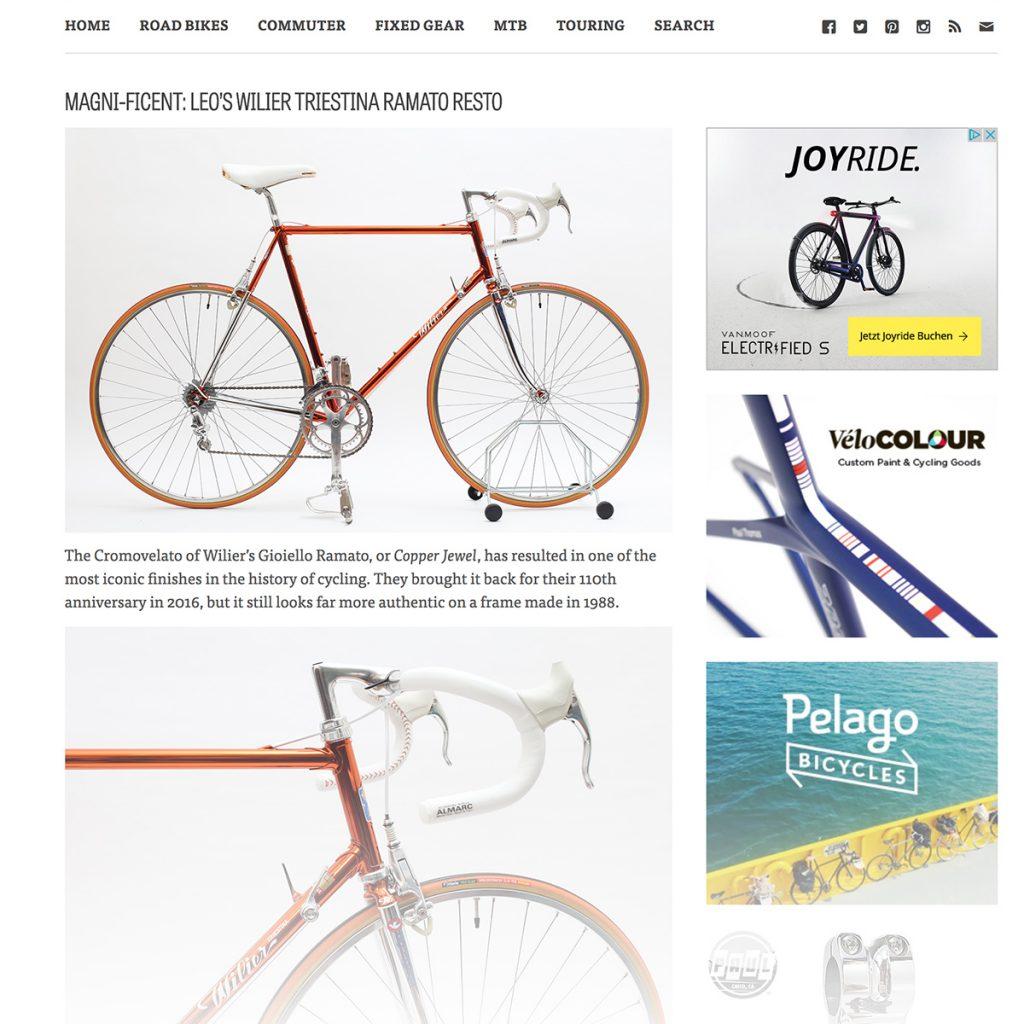 cycleexif, gioiello ramato