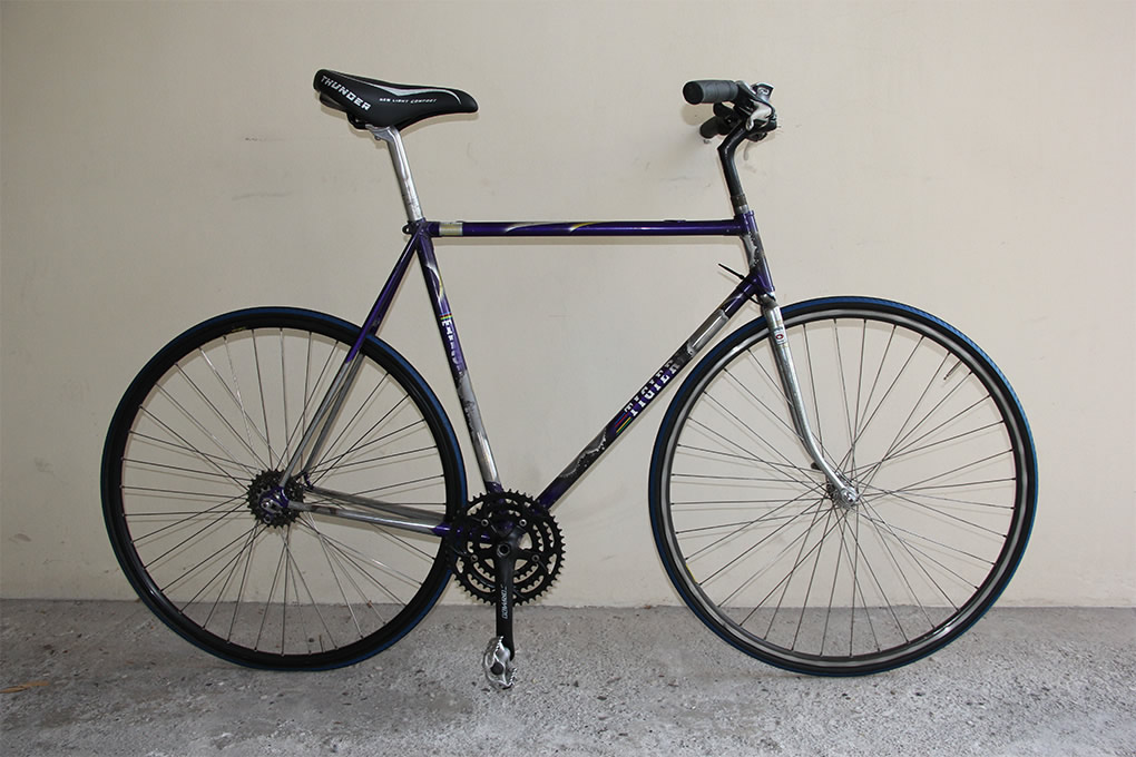restyling, restauro, bici in acciaio, ciclico, custom