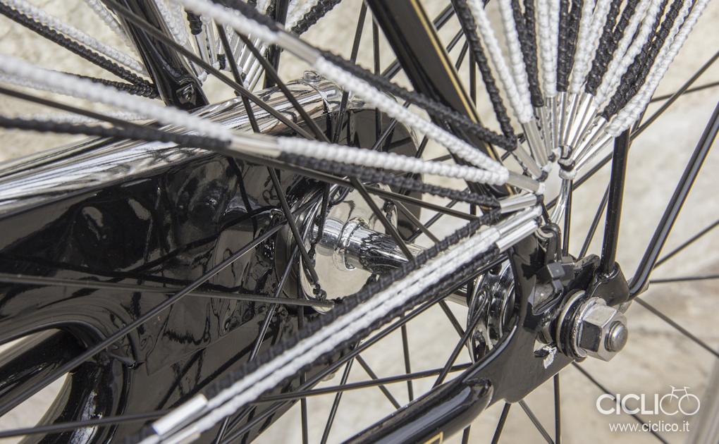 Restauro bici con i freni a bacchetta, Legnano Signora, Legnano Balloncino, Freni a bacchetta