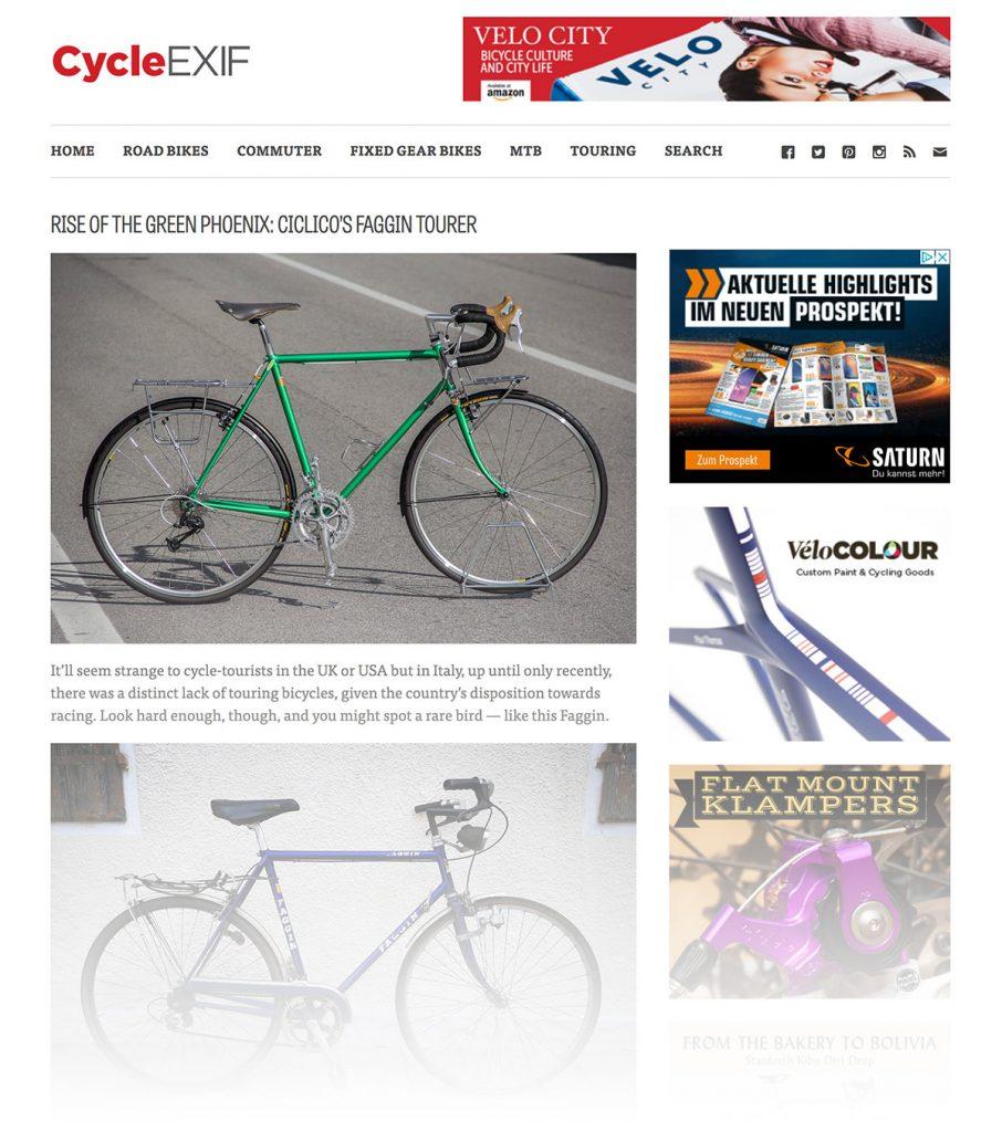 cycleexif, ciclico, randonneur, touring bike, faggin bike, commuter, commuting, commuter bike, custom bikes, classic bike