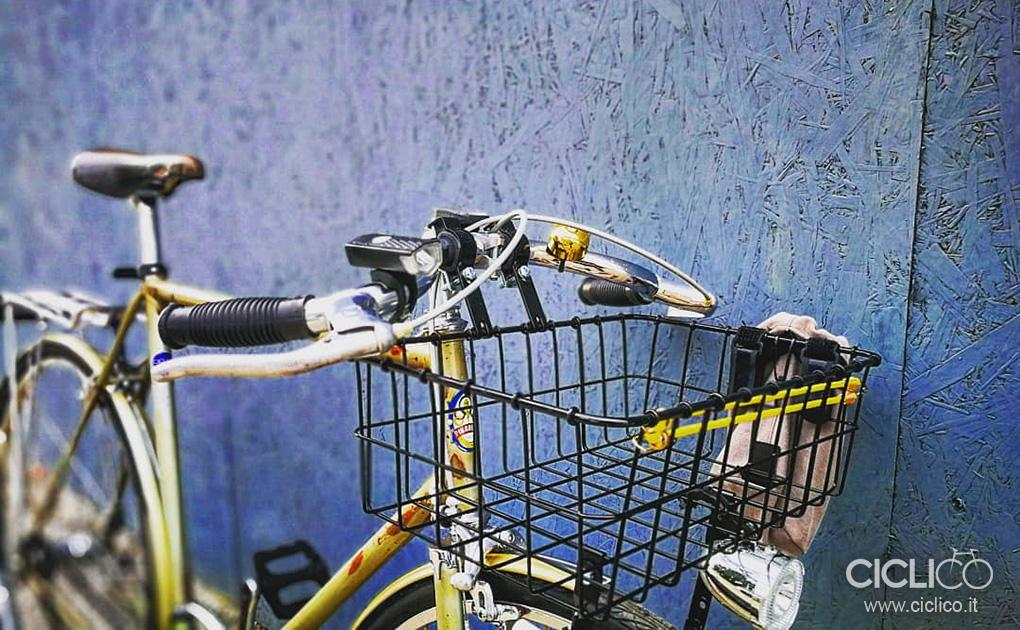 pinarello, bici in acciaio, bici da città, porteur, wald, cestino wald, weinmann, leve weinmann, galli, modolo, gipiemme, gian robert, saltafossi, manubrio a baffo, crane japan, campanello crane, acciaio inox, parafanghi acciaio, fari bici, luci bici, ciclico, restauro bici, restyling bici, bici custom, officina bici